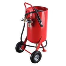 26 Gallon Portable Air Pressure Paint Removing Abrasive Blaster