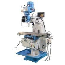 """Vertical Turret Mills 10"""" x 50"""" Multiple Speed Drill Mill Machine DRO"""