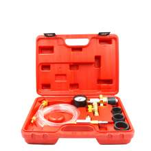 Cooling System Vacuum Purge & Refill Kit Universal Gauge Tools (6pcs)