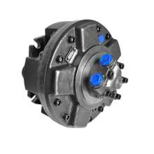 500 Rpm Speed With Splined Low Speed Radial Piston Hydraulic Motor
