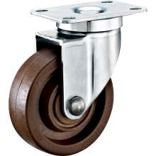 """4"""" Top Plate Swivel 280℃ High Temperature Caster 254 LBS"""