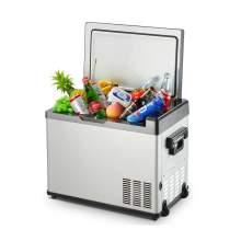 36QT. Portable Electric Car Cooler Refrigerator Outdoor Fridge Portable Freezer