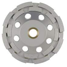 """NED 7"""" x 5/8-11"""" Double Row General Purpose G-Series (Cup Wheel)"""