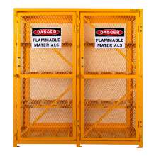 Cylinder Storage Cabinet Horizontal 16 Cylinder Capacity Unassembled