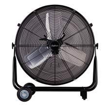 8913cfm ETL 24'' High Velocity Industrial 2-Speed Metal Floor Drum Fan Direct Drive Portable Tilt Drum Blower Fan