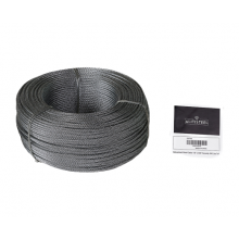 "Galvanized Cable 1/8"" x 500' Capacity 340 Lbs 7x7"