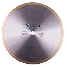 """NED 10"""" x 5/8"""" Premium TK Tile Blade (Continuous Rim)"""