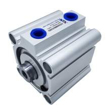 Bore 1.97'' Stroke 0.98'' CDQ2B50X25D Compact Pneumatic Air Cylinder