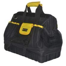 15.5 inch Wide Mouth Tool Bag with Rubber Base