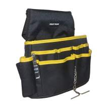 10.5 inch Strong Tool Waist Bag with a metal bracket