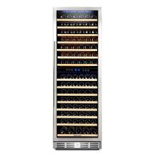 "Kalamera 24"" 15.9 Cu.ft 157 Bottle Built-in Wine Cooler"