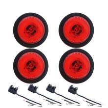 Trailer Clearance Side Marker Lights 2.5'' Round