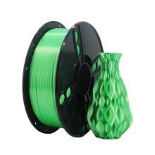 1.75mm PLA SILK Green Filament 1kg/2.2Lbs for 3D Printer