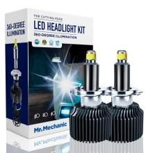 H7 LED headlight bulbs 70W 6,000K sky white 10,000LM brightness
