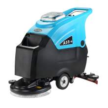 """Electric Auto Floor Scrubber 18"""" Cleaning Path 13 Gal Tank Cordless"""