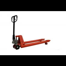 "Short Narrow Manual Pallet Jack 5500 lbs Capacity 42""L x 21""W Fork"
