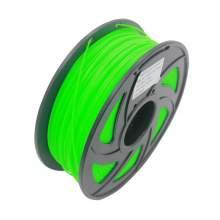 1.75mm PLA Green 3D Printer Filament 1kg 2.2lbs