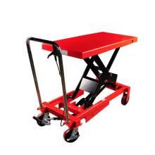 Manual Single-Scissor Lift Table 660 lb, 35.5'' Max Lifting Height