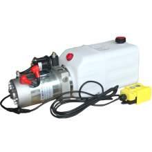 12V DC 1.5 GPM 2300 PSI Single Acting Hydraulic Power Unit