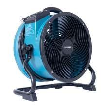 XPOWER X-39AR 1/4 HP Sealed Motor Axial Air Mover Fan w/ Power Outlets