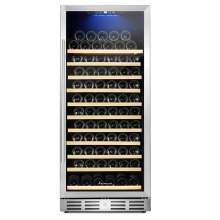 "Kalamera 24"" 12.3 Cu.ft 127 Bottle Built-in Single Zone Wine Cooler"