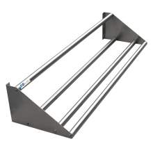 "MAXARA 16-Ga Stainless Steel Tubular Rack Wall Mounted Shelf 18""X60"""