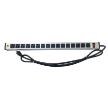 16 Outlet Power Strip for Tablet Charging Cart