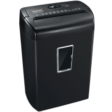 10-Sheet Cross-Cut Paper and Credit Card Shredder P4 Security Level