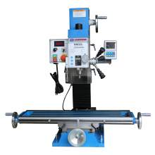 """Variable Speed 33"""" × 8-1/4"""" Bench Drill Mill Brushless Motor DRO"""