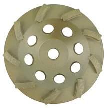 "NED 5"" x 5/8-11"" Single Row Standard Turbine (Cup Wheel)"