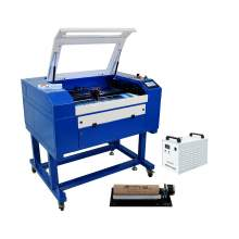 New Benchmark Reci 90W 28.35'' x 19.68'' Laser Engraver laser Cutter with Honeycomb Chiller co2 laser engraving machine laser cutting machine