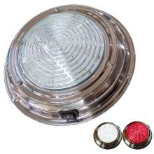 5'' Marine Dome Light 12v Led With Switch Red White