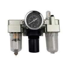 "1/4"" NPT Pneumatic Air Filter Regulator Lubricator 25 Micron 123 Psi"
