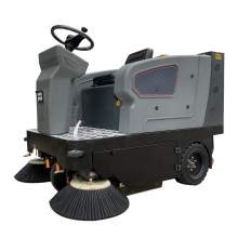 """58"""" 40Gal Ride-On Floor Sweeper Cleaning Path 80Ah Battery"""