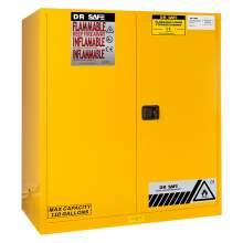 2 Drum Storage Cabinet 110 Gallon Manual  Vertical Drum Roller