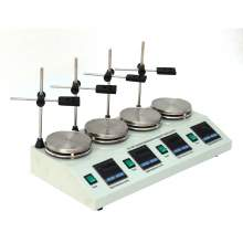 4L Laboratory Magnetic Stirrer Hot plate Digital Display 4-Position