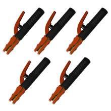 Stick Welding Electrode Holder Heavy-Duty American Style 300A 5 Pcs
