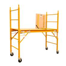 Multipurpose 6' High Utility Scaffold with Hatch Door