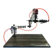 """1/8""""-3/8"""" Flexible Arm Pneumatic Air Tapping Machine Multi-direction"""
