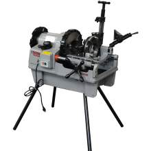 """Pipe Threading Machine 1/2"""" to 4"""" NPT Automatic Threader Cutter 2HP"""