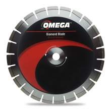 Omega Asphalt Saw Blade 10mm Segments (Supreme Grade)