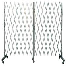 Portable Double Steel Folding Gate Openning 12 Ft