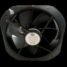 8.86'' 220vac 5Iron Leaf Axial Fan, 0.4a, 80w, 676cfm, 1ph, 2.2uF/500v