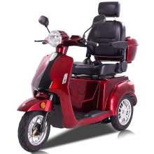 3 Wheels Electric Mobility Scooter For Seniors With Tail Box, 60V 800W