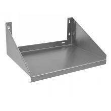 "24"" x 24"" 18 Gauge Stainless Steel 430 Microwave Shelf"