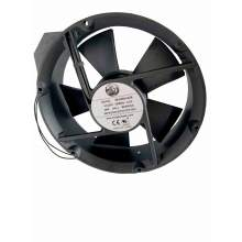 8.66'' Round Ac Axial Fan, 220vac, 60H, 0.3A , 530cfm , 1ph lead wires