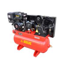 15HP 30 Gallon 16.2 CFM 125 PSI Horizontal Gas Air Compressor
