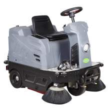 "43"" Ride-On Floor Sweeper 21GAL Dustbin"