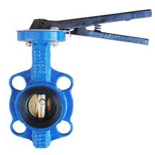 """2"""" Wafer Butterfly Valve Resilient Seated Cast Iron 232PSI"""