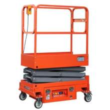 "Semi Electric Scissor Working Platform 118"" 660 Lbs"